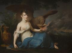 Portrait of Teofila Radziwiłł as Hebe