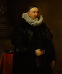 Portrait of the Antwerp city almoner Adriaen Stevens, aged 68