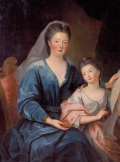 portrait of the Duchess of Bourbon-Condé