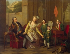 Portrait of the Saltykov Family