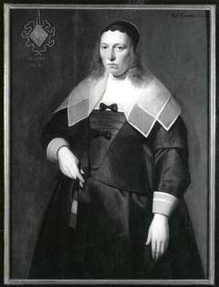 Portret van Catharina Evertsdr. Entens van Mentheda