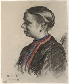 Portret van een Oostenrijkse