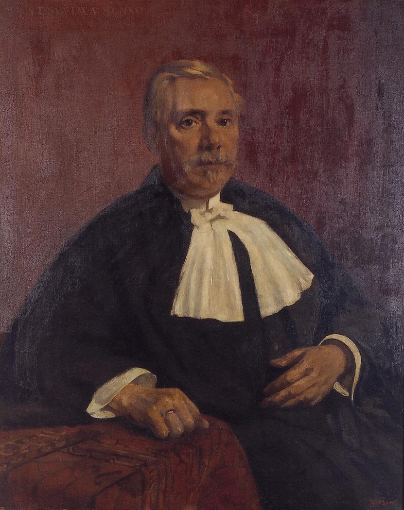 Portret van een rechter