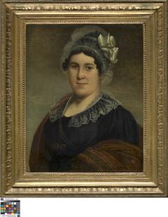 Portret van Isabella van Lutsenborgh, echtgenote van Jacobus Dumery