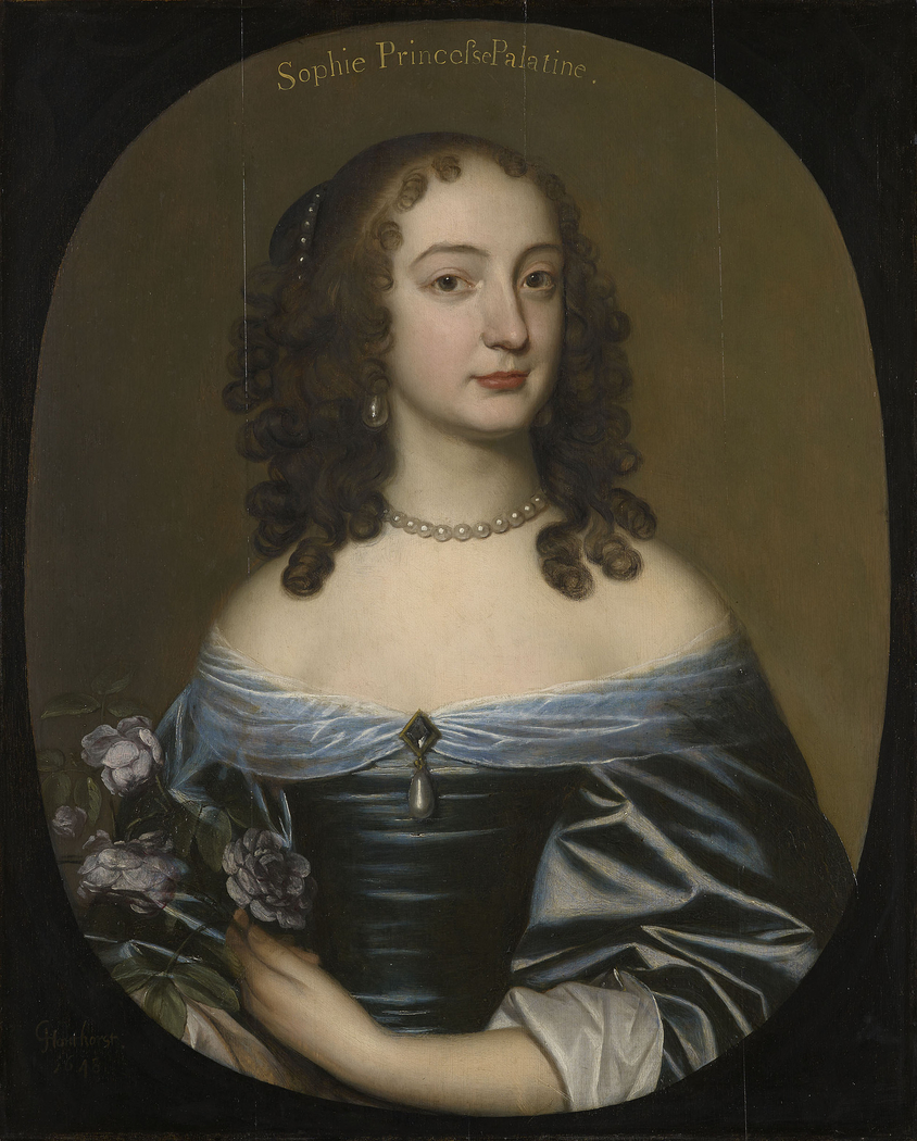 Princess Sophia, later Duchess of Brunswick-Lüneburg, Electress of Hanover (1630-1714)