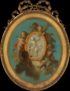 Putti with a Medallion