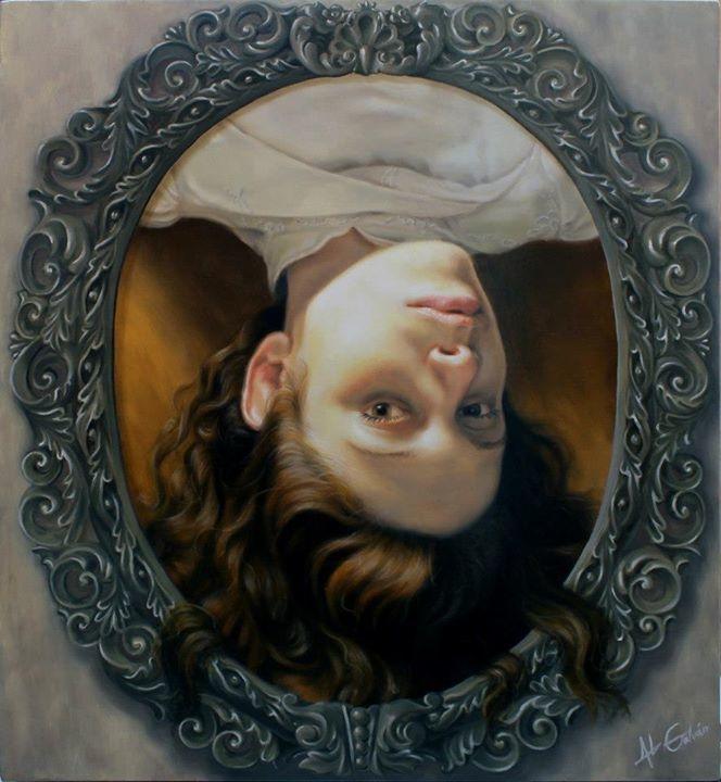 Retrato de cabeza