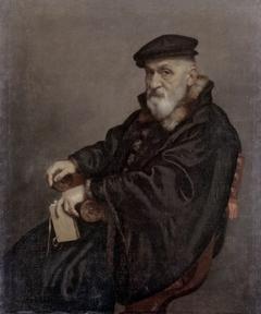 Ritratto di vecchio seduto