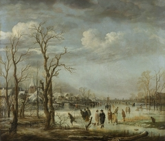 River view in the winter