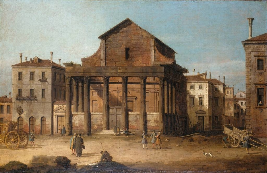 Rome: The Temple of Antoninus and Faustina