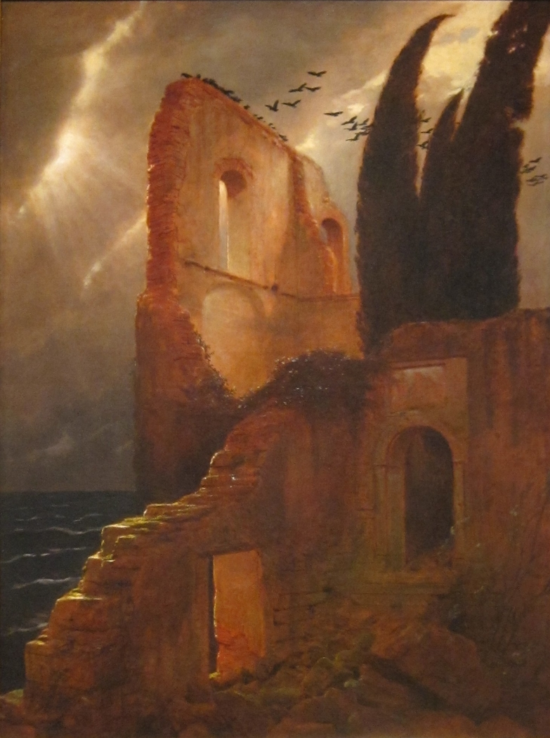 Ruins by the Sea