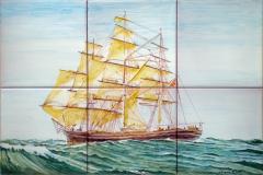 Sailing ship Cutty Sark