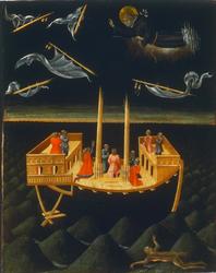 Saint Nicholas of Tolentino Saving a Shipwreck