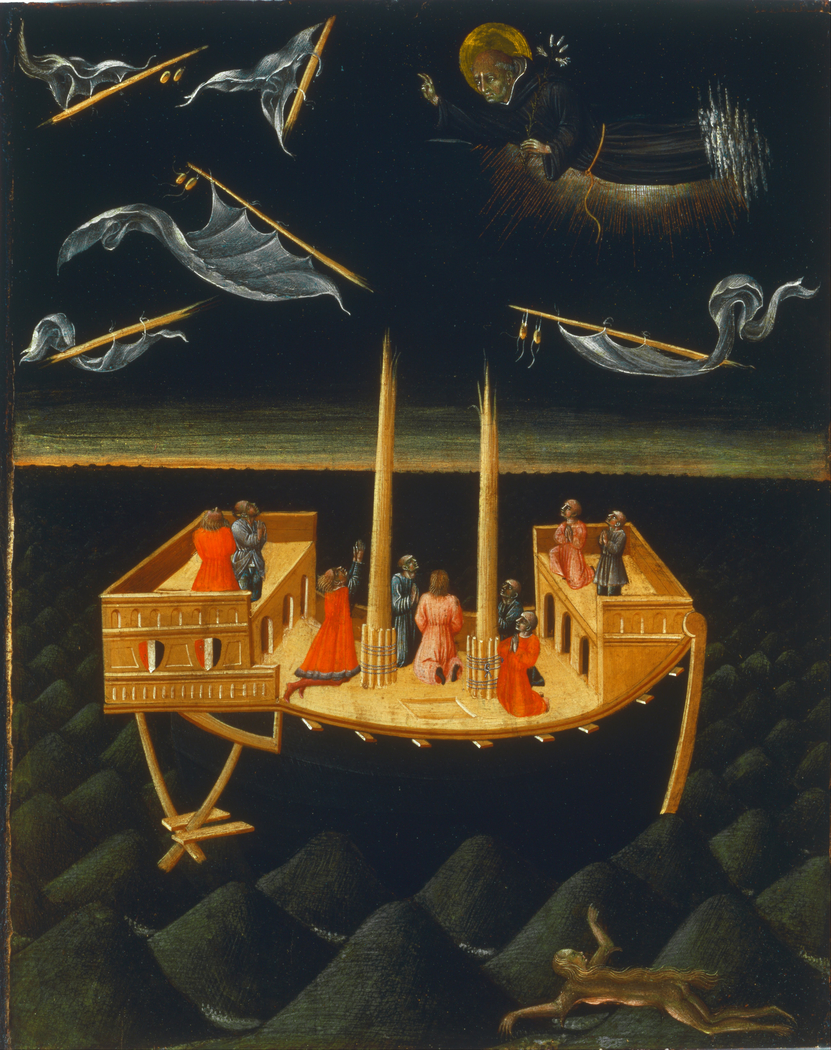 Saint Nicholas of Tolentino Saving a Shipwreck