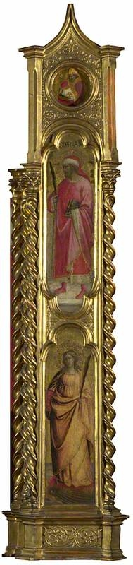 Saints Nicholas, Damian and Margaret: Right Pilaster