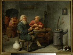 Scene in a tavern