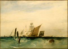 Seapiece: Off the French Coast