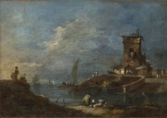 Seaport with a Castle