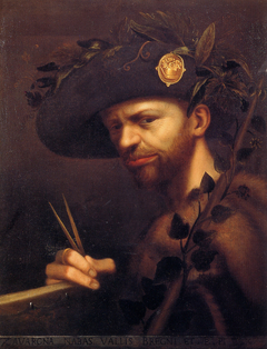 Self-portrait of Giovanni Paolo Lomazzo
