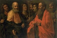 St James the Less, Sts Peter, Paul, John, Thomas, Philip, Judas and Thaddeus the Apostles