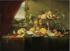 Still Life on a Wooden Table