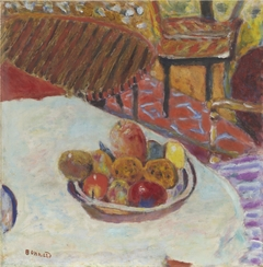 Still Life (Table with Bowl of Fruit)