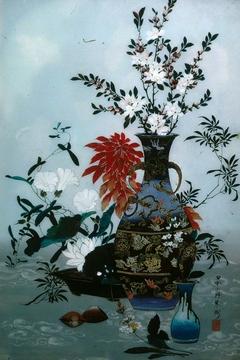 Still Life, Vase & Flowers