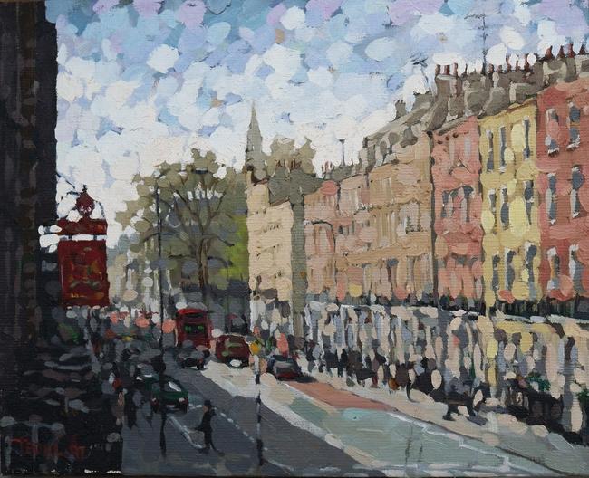 """Street Scene Near London Business School"" Teo Kim-Liong ..."