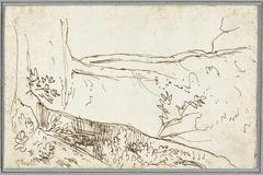 Studie van twee bomen