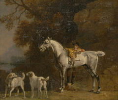 """Studies for or after """"The third Duke of Richmond with the Charleton Hunt"""""""