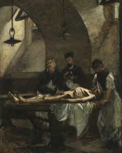 "Study for ""Autopsy at the Hôtel-Dieu"""