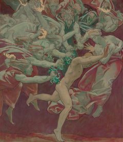 Study for the Museum of Fine Arts, Boston, Murals: Orestes and theFurie