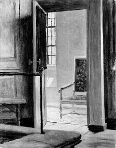 Study from the Interior of Vartov Church in Copenhagen