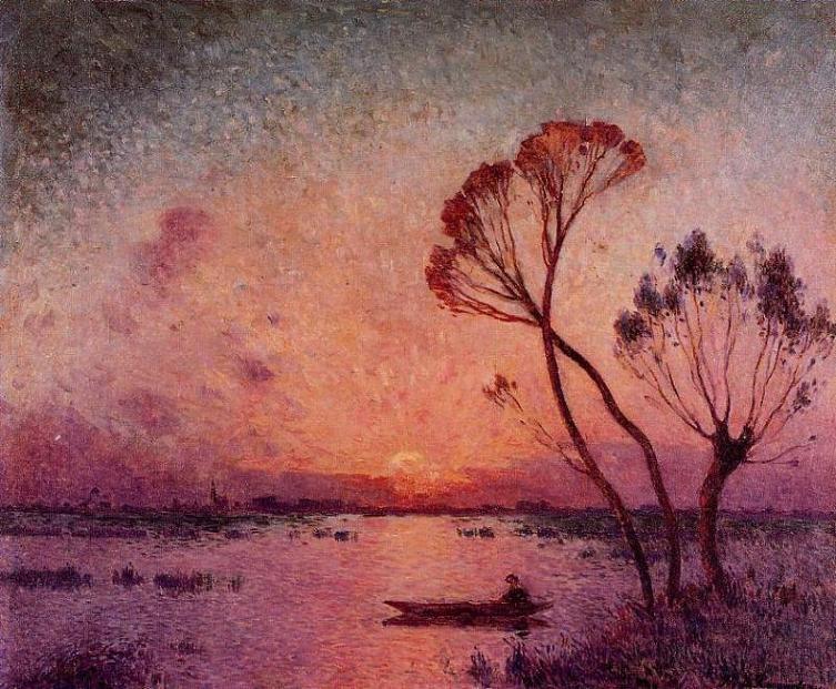 Sunset in Brière I