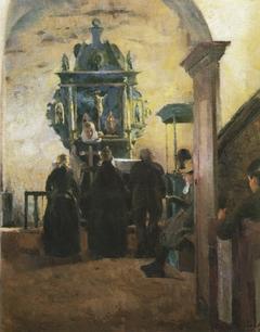 The Altar at Tanum Church in Bærum