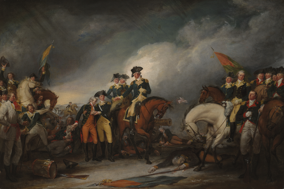 The Capture of the Hessians at Trenton, December 26, 1776