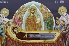 The Dormition of the Mother of God (detail)