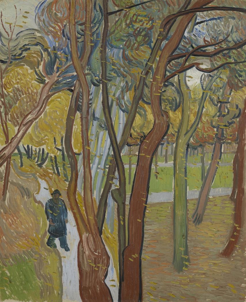 The Garden of Saint Paul's Hospital ('Leaf-Fall')
