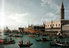 The harbor basin of San Marco on Ascension Day, Venice