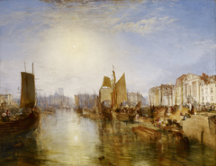 The Harbor of Dieppe