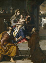 The Holy Family of Cardinal Fernando de' Medici