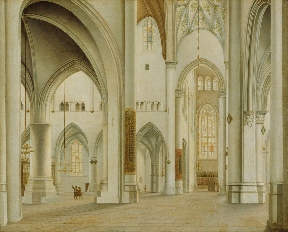 The Interior of St. Bavo, Haarlem
