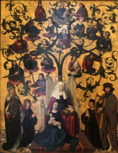 The Line of Saint Anne