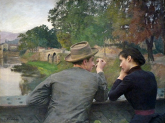 The Lovers (Autumn Evening)