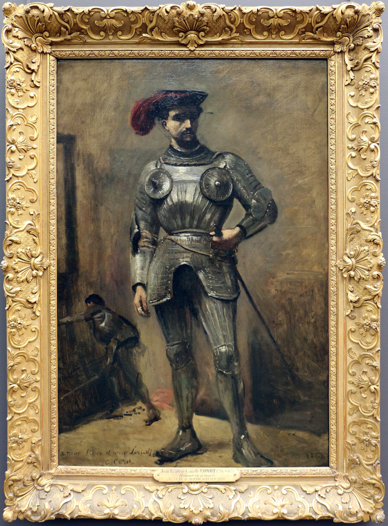 the man in armor