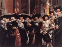 The Officers of the St Adrian Militia Company in 1630
