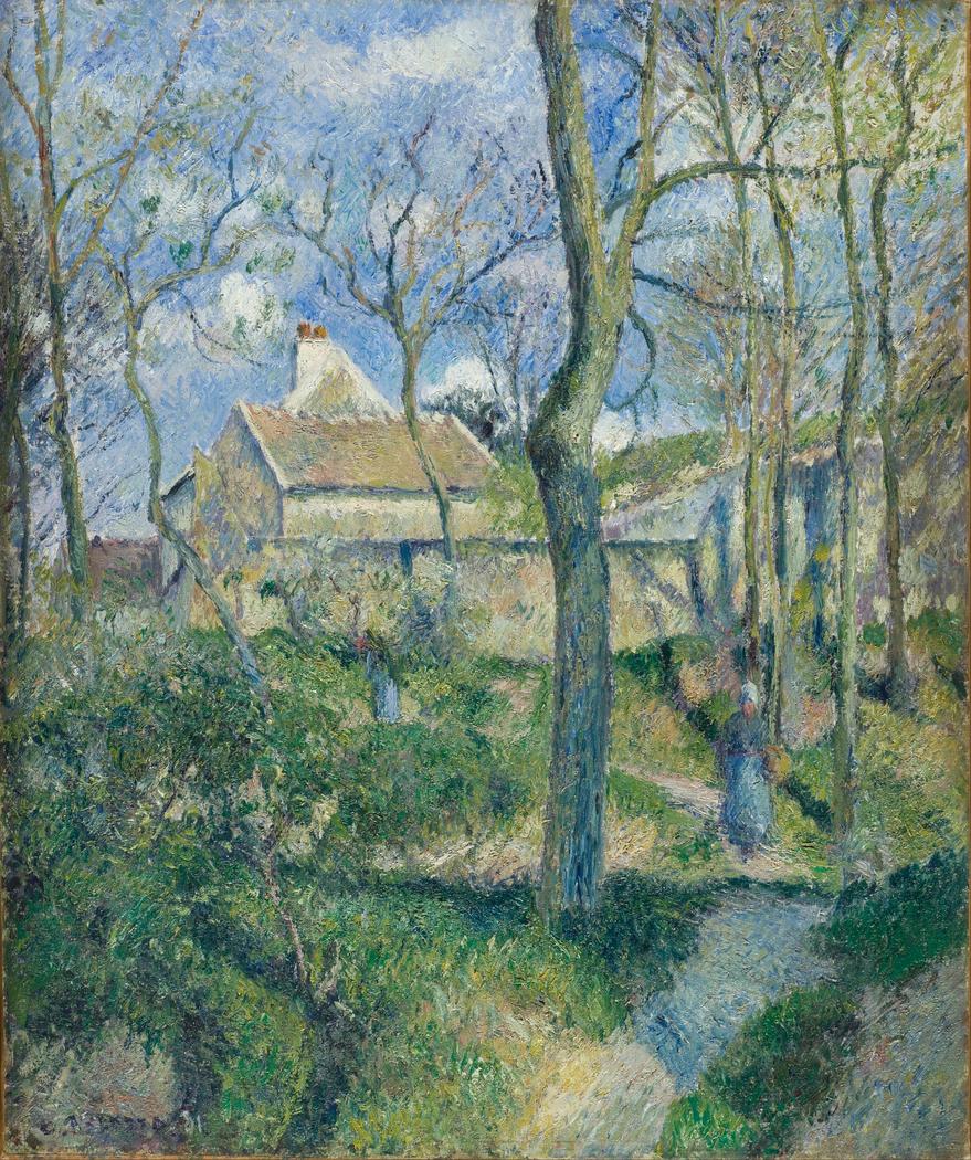 The Path to Les Pouilleux, Pontoise