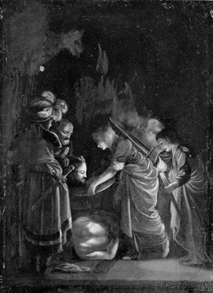 The Presentation of the Head of Saint John the Baptist, Night