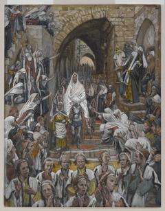 The Procession in the Streets of Jerusalem (Le cortège dans les rues de Jérusalem)