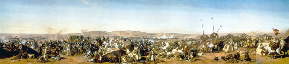 The seizure of Abd-el-Kader's camp in 1843